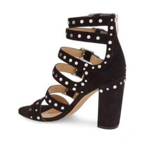 24dd78f0fc4f Sam Edelman Shoes - Sam Edelman York Stud Suede Sandal